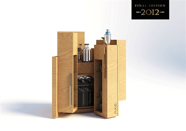 axe 2012 final edition holz minibar geklappt. Black Bedroom Furniture Sets. Home Design Ideas
